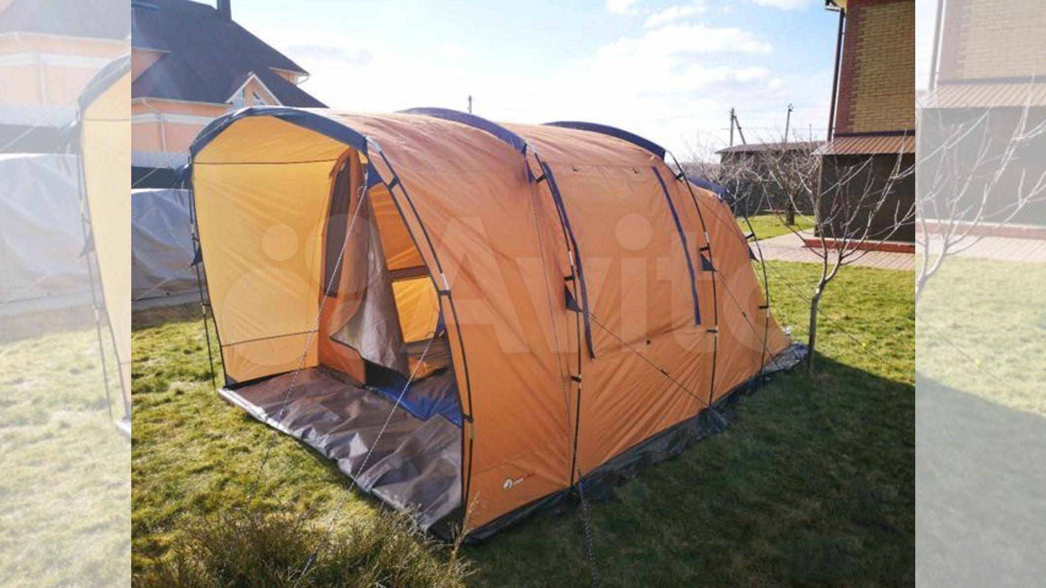 Палатка 4-х местная купить в Москве с доставкой | Хобби и отдых | Авито