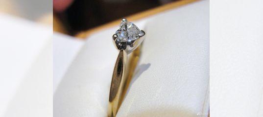 Кольцо бриллиант сердце к Дню святого Валентина купить в Красноярском крае  на Avito — Объявления на сайте Авито 1c24e146c49