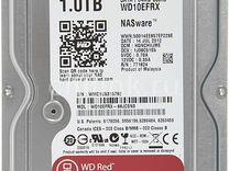 Жесткий диск WD Red WD10efrx, 1Тб, HDD, SATA III — Товары для компьютера в Самаре