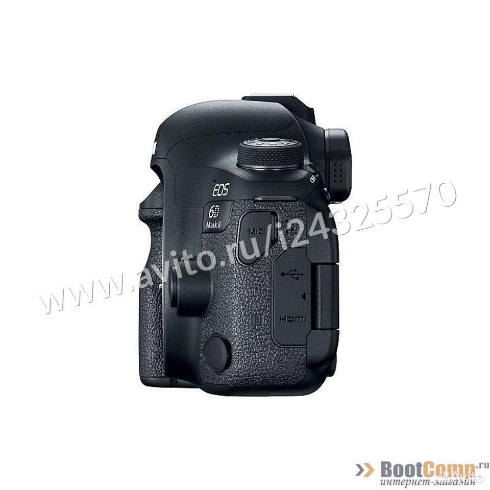 Фотоаппарат Canon EOS 6D mark II body  84012410120 купить 4