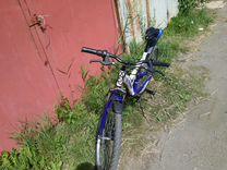 Велосипед горный двухподвесный
