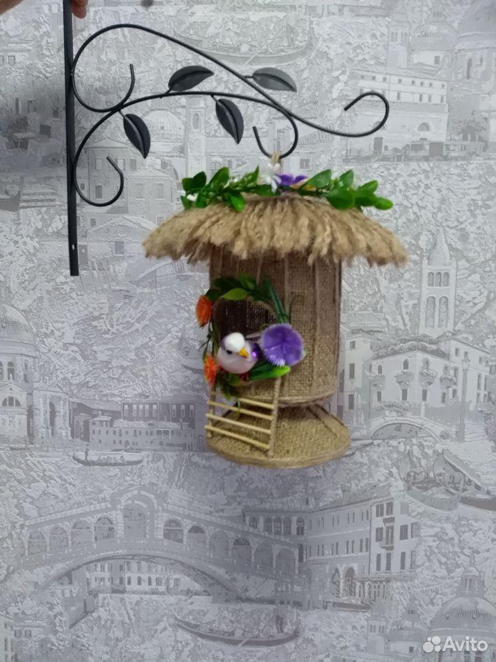 Домик из джута для украшения интерьера  89042052967 купить 7