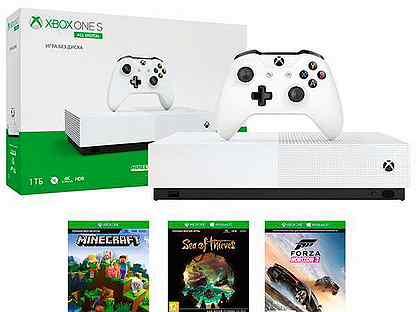 Xbox One s 1tb без привода