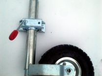 Большой с надувным опорным колесом