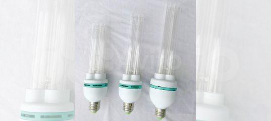 Лампа энергосберегающая, бактерицидные светильники