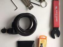 Ключи для велосипеда и велозамок
