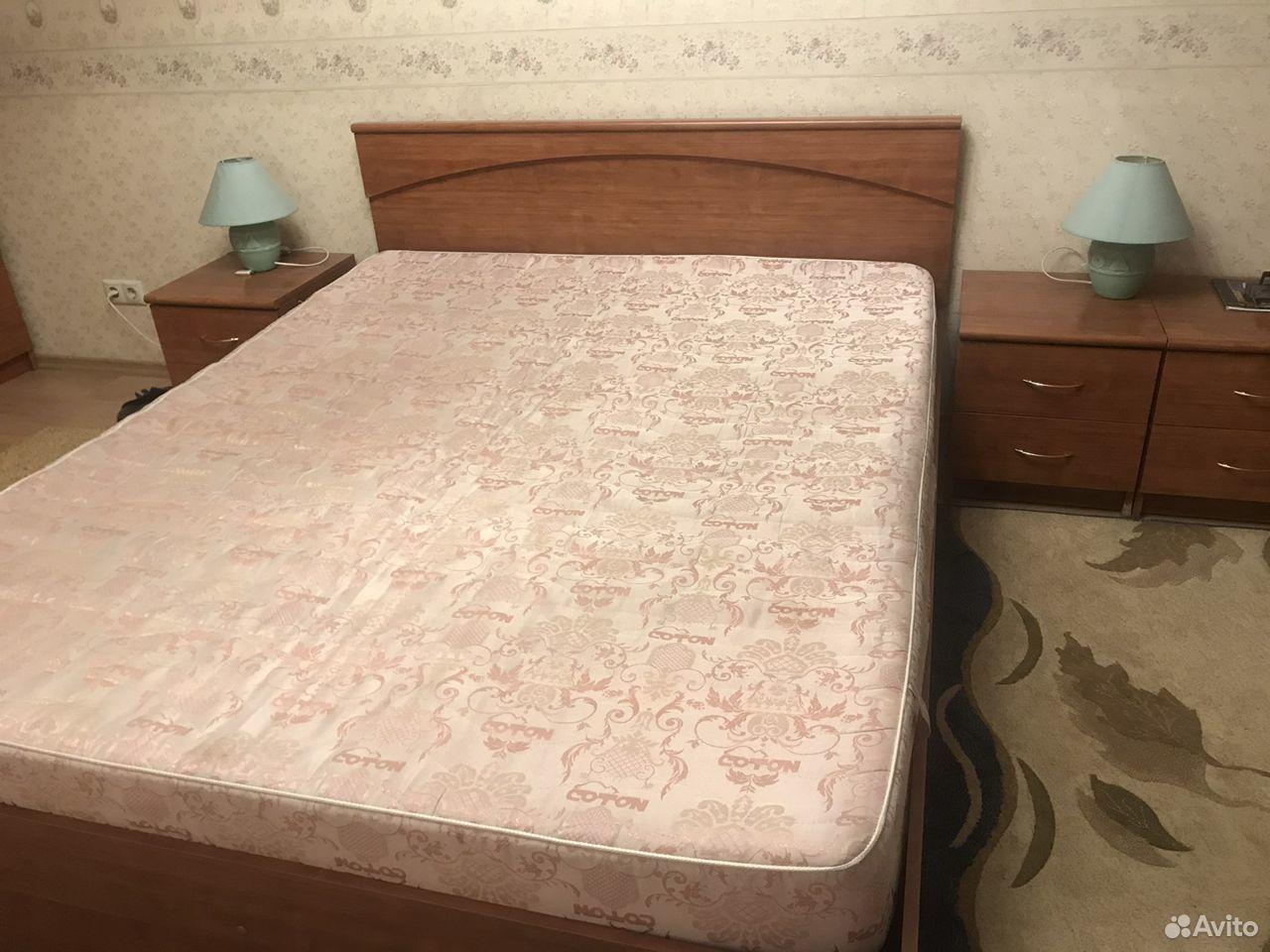 Кровать двуспальная с прикроватными тумбами  89039082198 купить 3