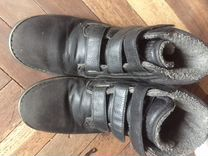 Ботинки тёплые на мальчика 38 кожа