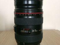 Объектив Canon 24-70/f.2.8 L