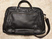 Портфель кожаный, сумка мужская — Одежда, обувь, аксессуары в Омске