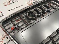 Решетка на Audi A6 в стиле S6 04-11 гг. дизайн 4