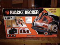 Угловая шлифовальная машина Black Decker