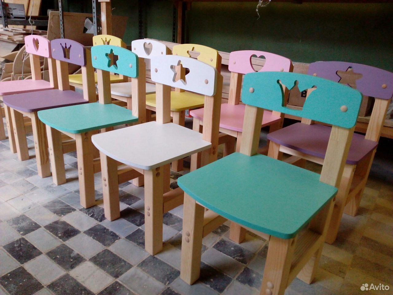 Стульчик детский деревянный  89517599918 купить 1