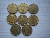 50,20,10,5,2,1 евроцентов
