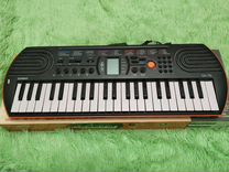 Синтезатор для детей Casio SA-78 оранжевый
