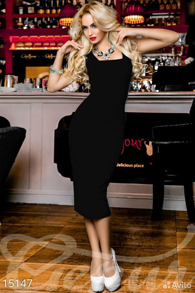 Платье черное шикарное  89227152105 купить 1