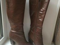 Сапоги кожаные — Одежда, обувь, аксессуары в Самаре