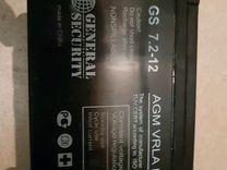 Аккумуляторная батарея GS 7.2-12 (General Security