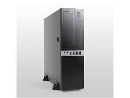 Корпус DeskTop Foxline FL-203 300W Black mATX #FL-203-TFX300S