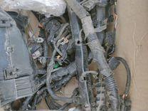 Электропроводка моторного отсека на салярис 2