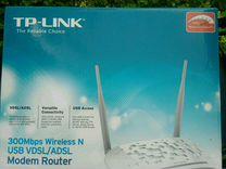 TP-link 300Mbps Wireless N. Model. Td-w9970