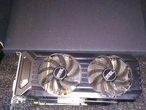 Видеокарта GeForce1070 ti Palin Dual 8 gb. 8192MB