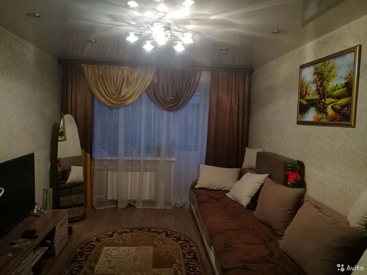 3-к квартира, 63.7 м², 2/2 эт.  89618940544 купить 3