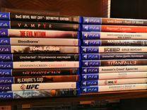 Диски PS4/PS3/Xbox 360 на игровые приставки