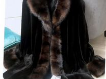 Новая норковая шуба Langiotti — Одежда, обувь, аксессуары в Москве
