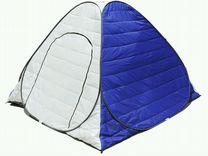 Палатка зимняя утепленная восьмерка 2*2*1.6