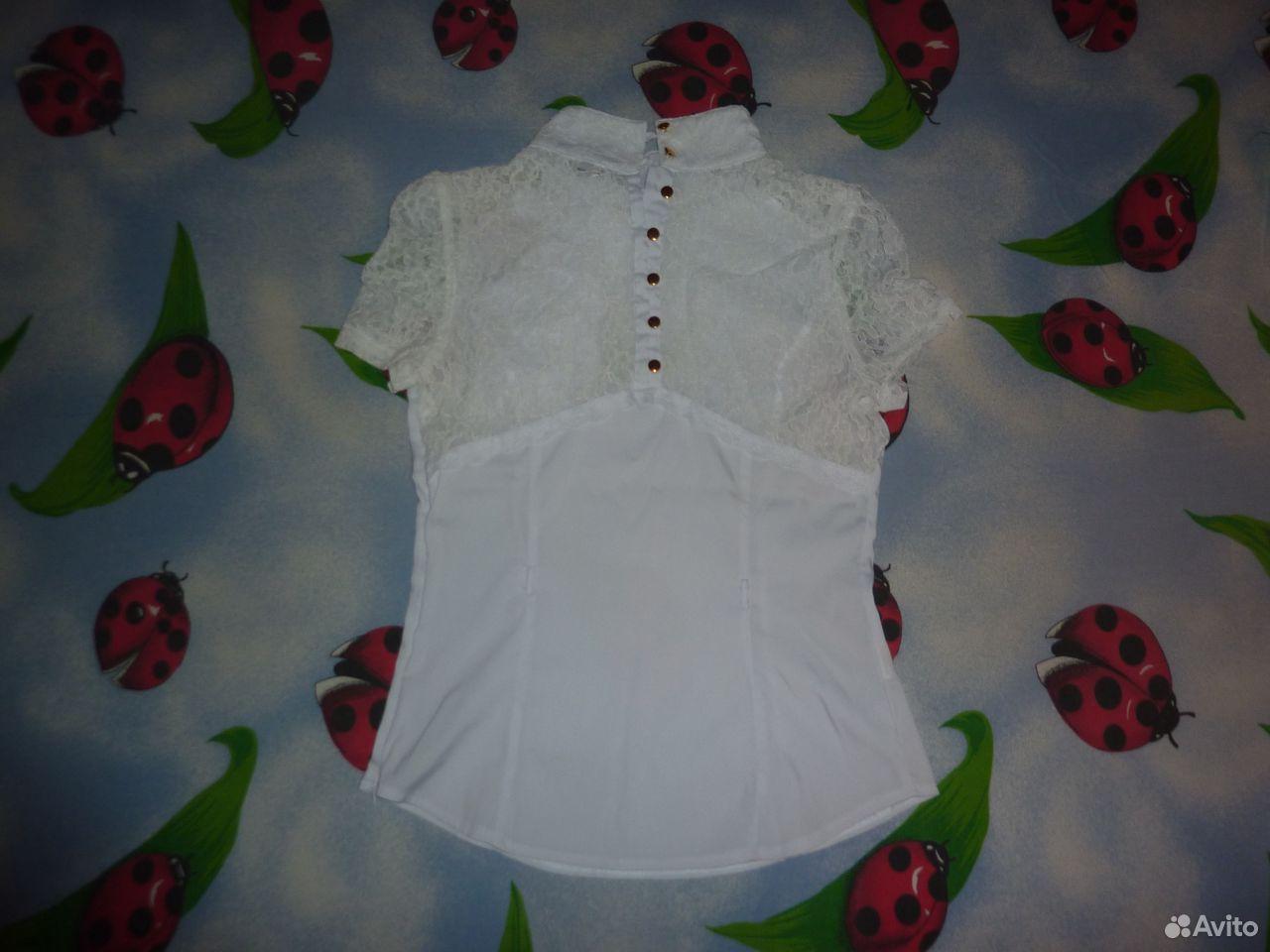 Блузка (белая)  89033482415 купить 2