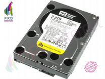 Жёсткий диск WD Black 2Tb. Бесплатная доставка — Товары для компьютера в Москве